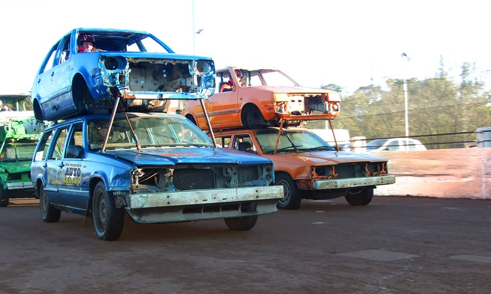 Birmingham Banger Racing and stock cars