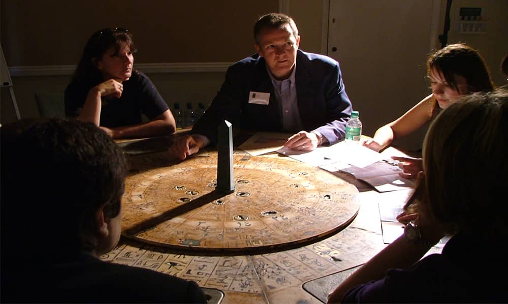 Da Vinci Code Team Building Event