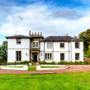 kirkhill edinburgh self catering manor house