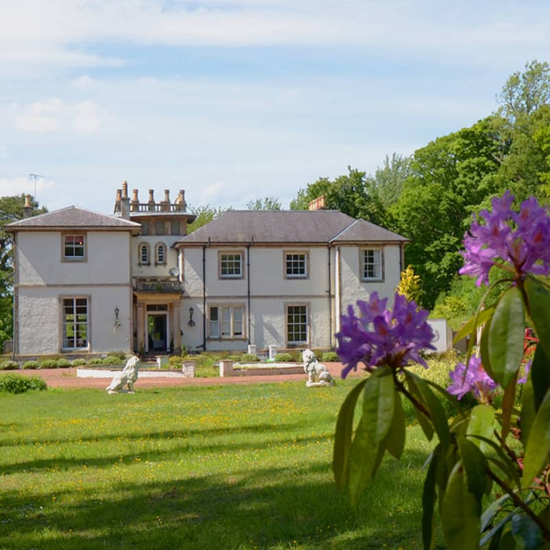 kirkhill edinburgh self catering manor house