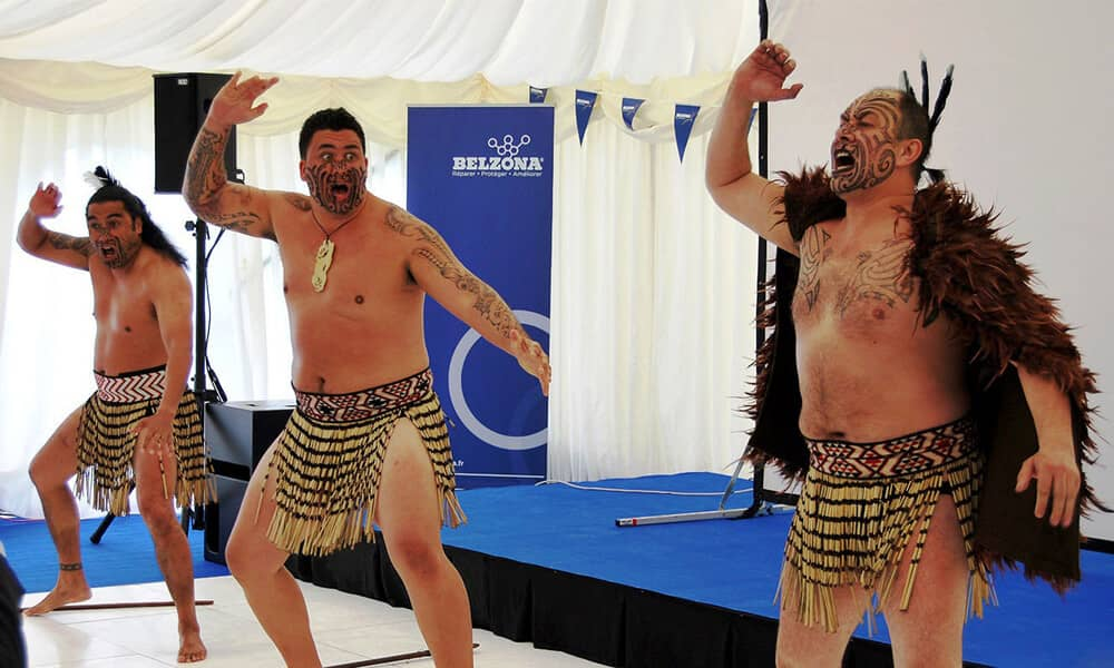 Haka Dancing Team Building Activity