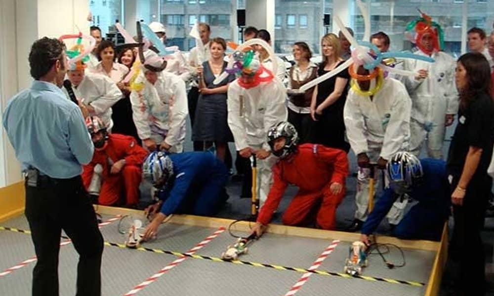 Team Torque team building activity