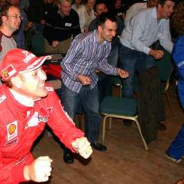 Virtual Grand Prix team building activity