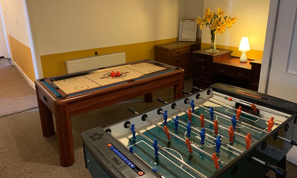 Harvieston Hall Games Room