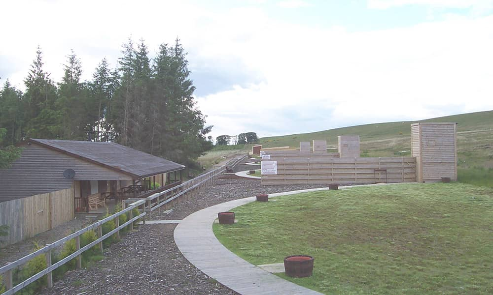 Edinburgh clays and shooting range