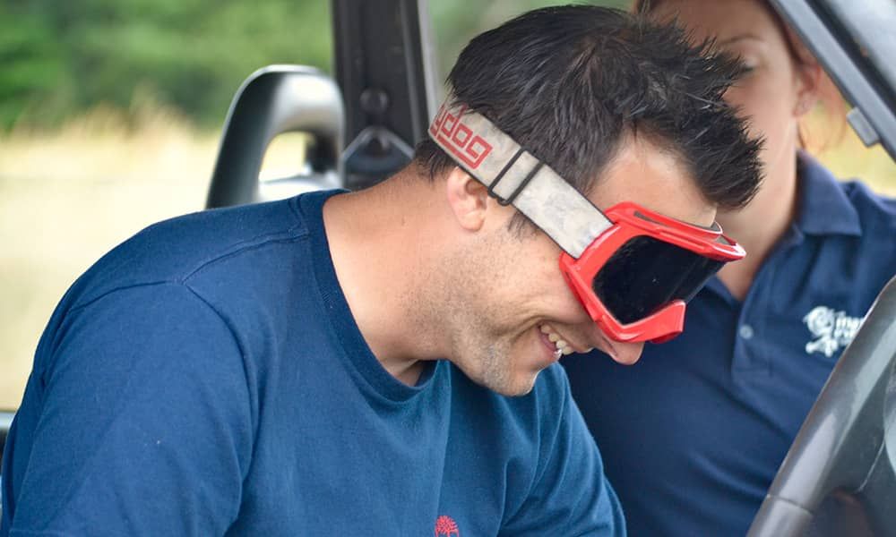 4x4 Blindfold off road driving experinces