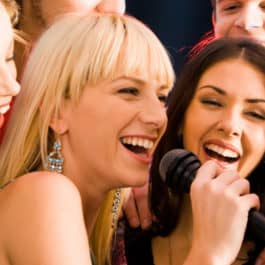 hen party ideas - Karaoke singing
