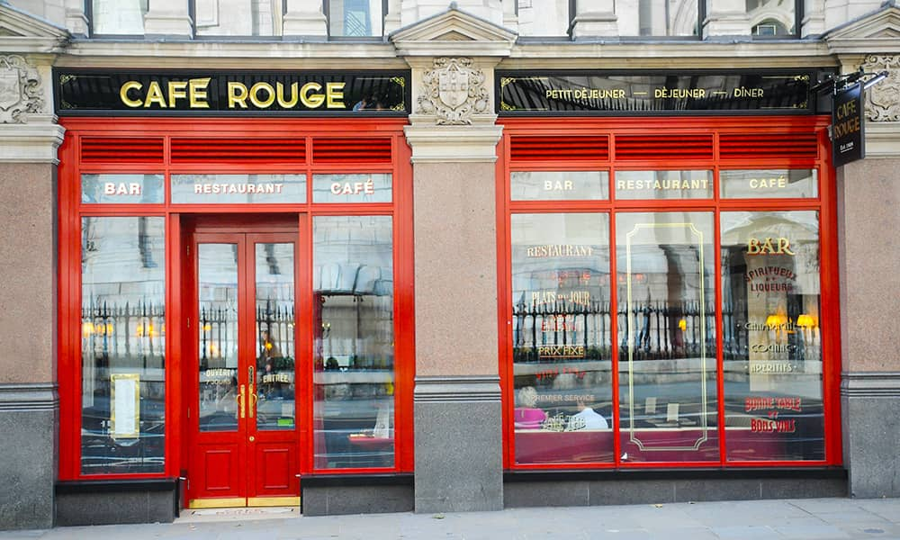 Cafe Rouge Dining Experience