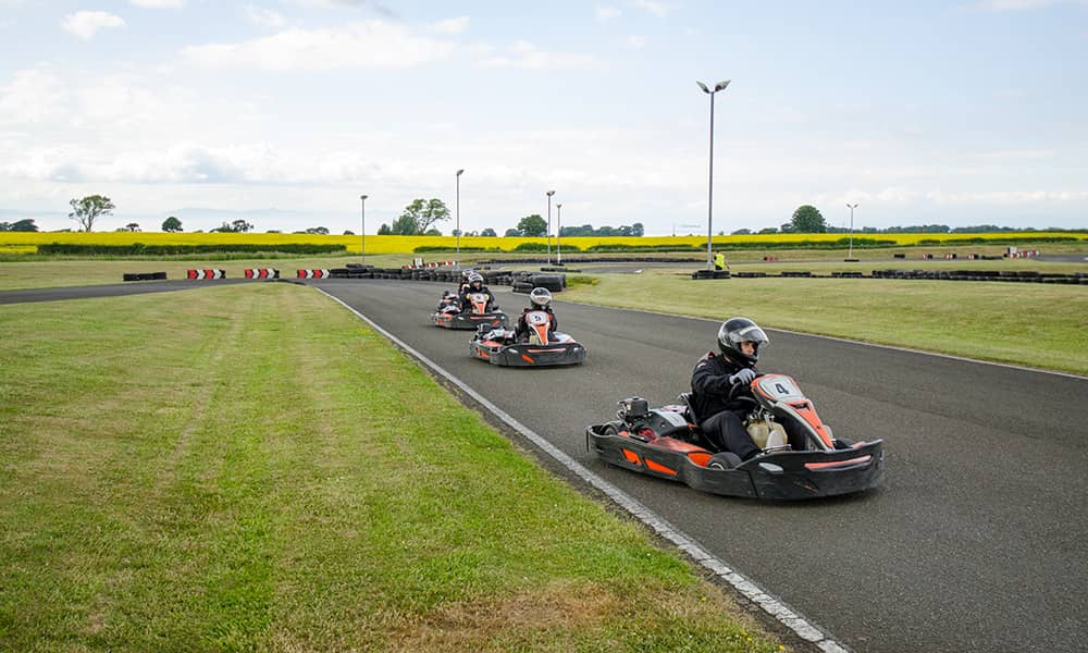 outdoor go karting