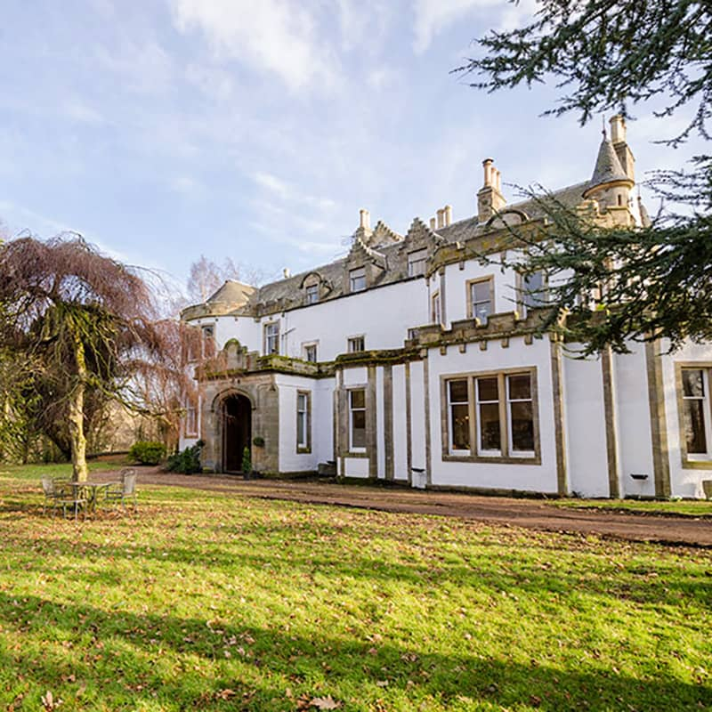 Harvieston Hall holiday home rental