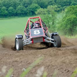 off road dirt buggy
