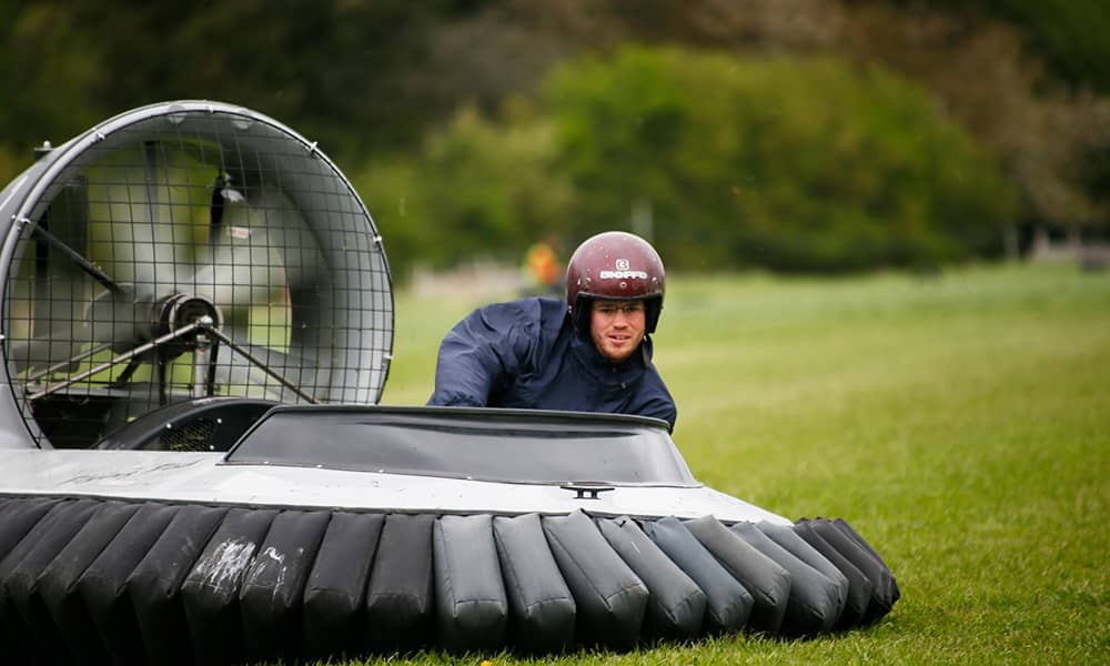 Hovercraft Flying Experience