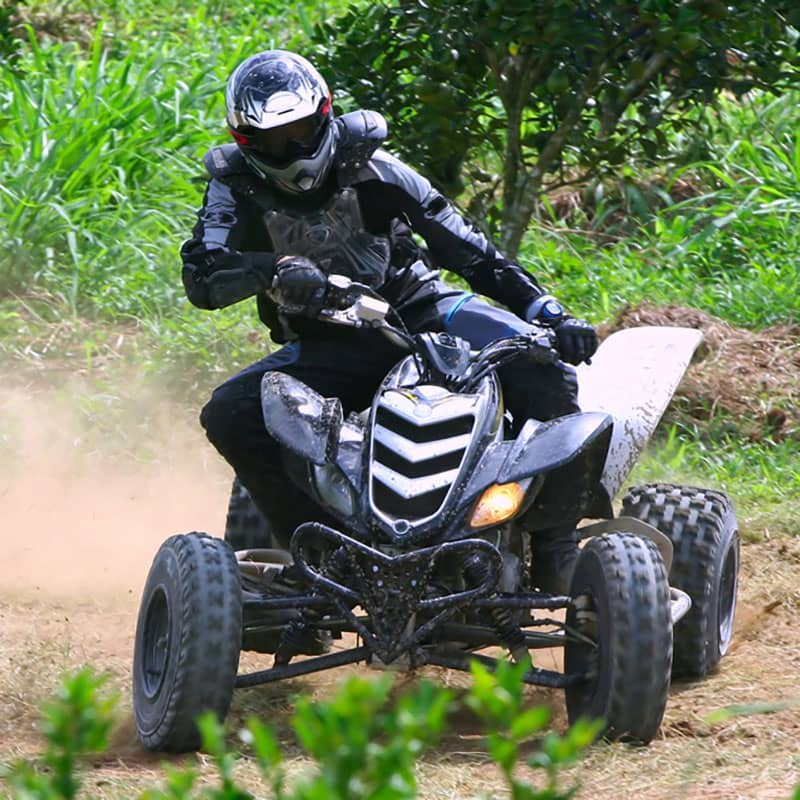 quad-biking experience