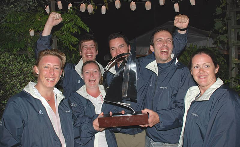 clipper sailing trophy