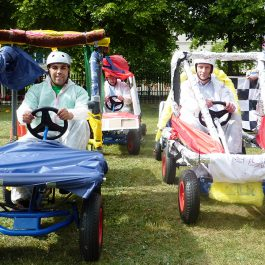 Chequered Flag Team Building Event