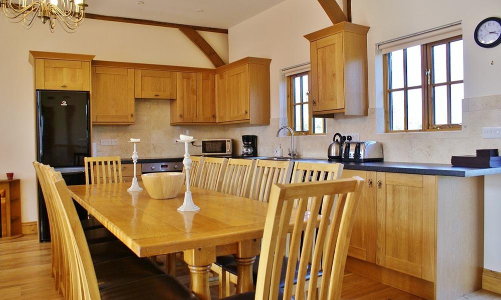 Oxford Manor Barn Kitchen