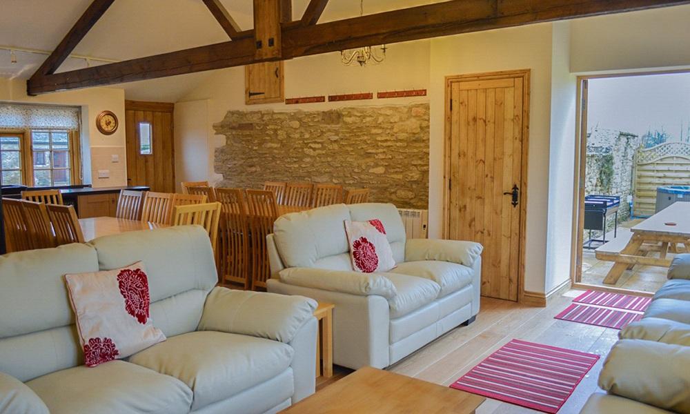 Oxford Manor Cottage Living Room