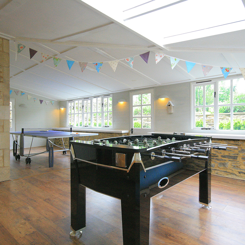 17th Century Cotswold Estate Games Room