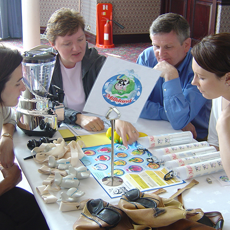 Creative Juices team building event