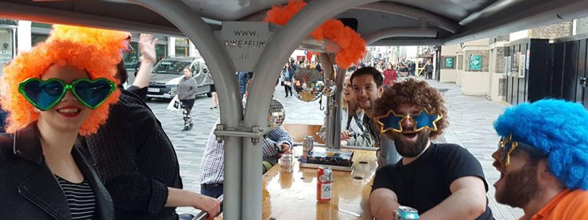 Brighton Party Bike - Tour the city