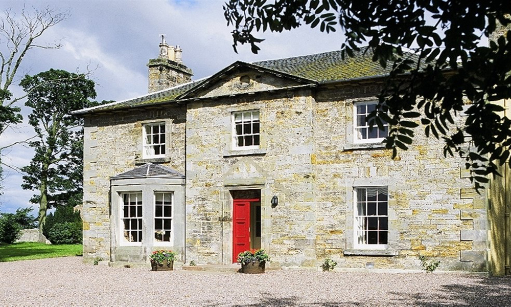 Edinburgh Estate Farmhouse Front of House