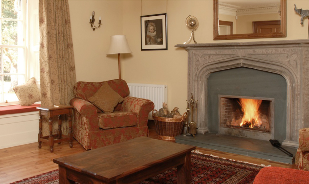 Edinburgh Cottage Living Room