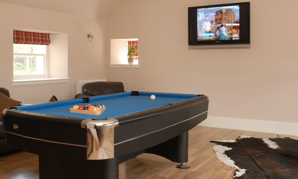 Edinburgh Cottage Games Room