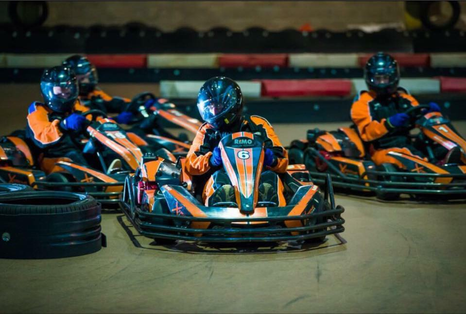 Indoor Karting Track