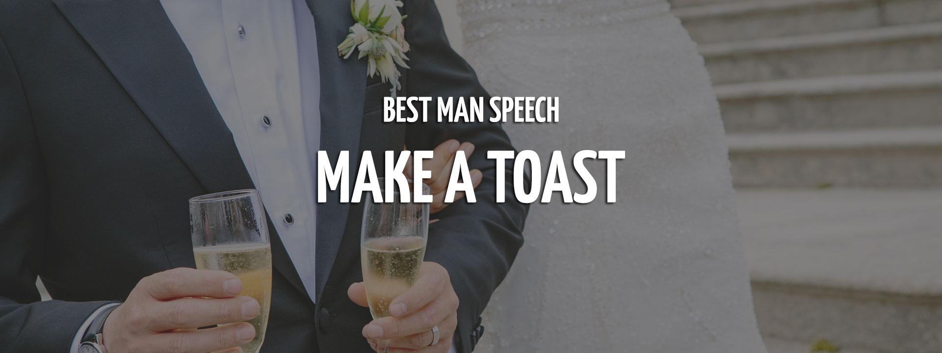 Best Man Speech Toast