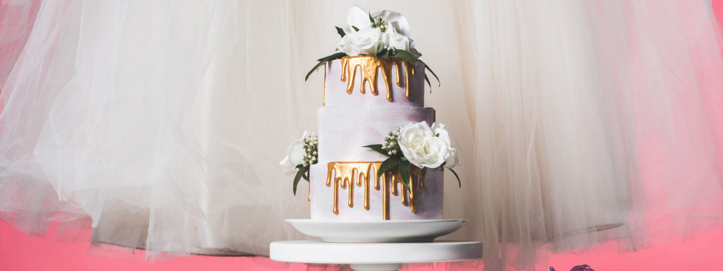 Drip wedding cake ideas