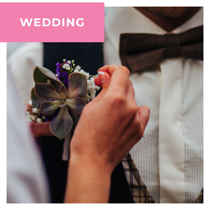 grooms buttonhole ideas