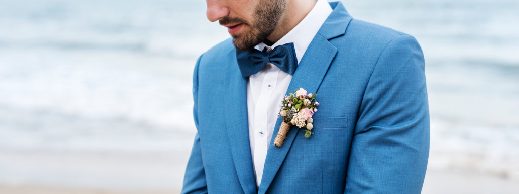 Grooms Buttonhole flowers